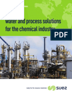 SUEZ's water and process solutions for the chemical industry