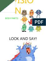 Body Parts Recap