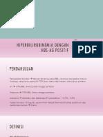 Hiperbilirubinemia - Tp Praya