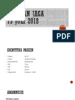 Presentasi Laporan Jaga IGD 13 Juni 2017 an. Rania