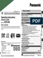 DVD/CD Player DVD-S49