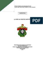 Deteksi Morfologi & Molekuler Parasit Anisakis spp pada Ikan.doc