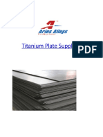 Titanium Plate Suppliers