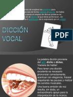 Dicción Vocal