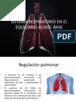 Sistema Respiratorio en El Equilibrio Acido- Base