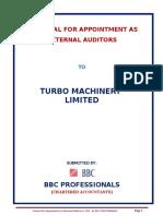 Turbo Machinery Proposal 1