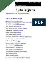 Daily Jobs