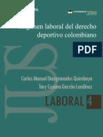 Regimen Laboral Del Derecho Deportivo Colombiano