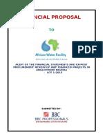 Adb - Financial Proposal