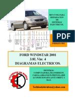 2001 Ford Windstar LIBRO de Diagramas
