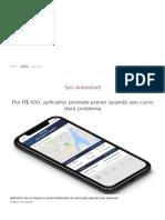 Por R$ 450, aplicativo promete prever quando seu carro dará problema