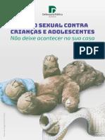 Abuso Sexual Contra Crianças e Adolescentes - Não Deixe Acontecer Na Sua Casa
