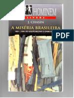 A Miséria Brasileira - j. Chasin
