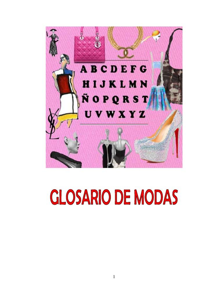 f7033c12f79 Glosario-de-Moda.pdf | Ropa | Moda y belleza