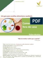 eBook Guia Escolhas Alimentares