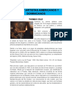 Obras y Artistas Americanos y Dominicanos