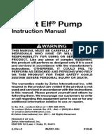 Escort Elf Manual