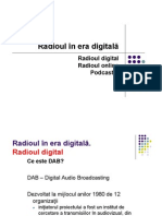 Radioul in Era Digitala