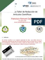 1. Redacción de Artículos Científicos (Francisco Farnum Castro)