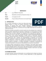 Pautas Proyecto Diseño de Reactores Uniatlantico