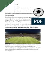 Artikel Olahraga Puji