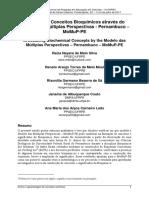 Articulando Conceitos Bioquímicos através do Modelo das Múltiplas Perspectivas - Pernambuco – MoMuP-PE
