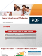 Huawei Future Oriented FTTxSolution