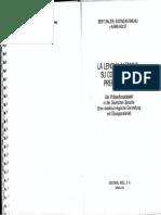 La Lengua Alemana Su Complemento Preposicional -Berit Balzer, Barjau, Holst
