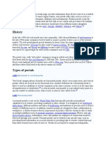 A Web Portal