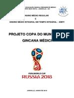 Projeto Copa Do Mundo Rússia - Interclasse