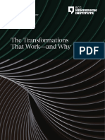 BCG the Transformations That Work—and Why Nov 2017
