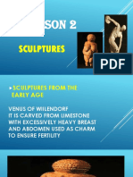 Sculpture Lesson