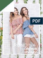 Casual Verano 2017-2018 RONDINA