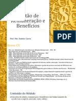 Gestão de Remuneração e Benefícios