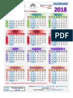 Calendario Epidemiológico