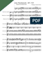 Eine Kleine Natchmusik - Quartet Recorder