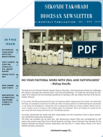 DIOCESAN NEWSLETTER(8TH EDITION