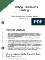 Tradenet Facilitators Briefing