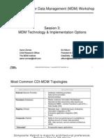 MDM Workshop 03-Technology & Implementation Options [לקריאה בלבד] [מצב תאימות]