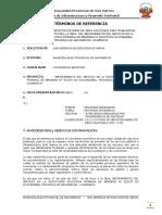 TDRs Pisos y Pavimentos - Obra Principal R. N° 19