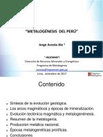 Metalogénesis Del Peru