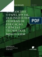 AS NUANCES E O PAPEL SOCIAL DOS INSTITUTOS FEDERAIS DE EDUCAÇÃO, CIÊNCIA E TECNOLOGIA LUGARES A OCUPAR