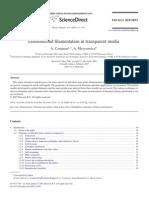 Femtosecond Filament at Ion in Transparent Media