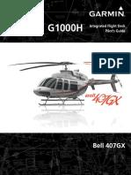 Garmin Bell 407gx w Sys Sw 1237 03 Pilots Guide 720925