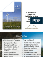 Docslide.net a Summary of Plan b 40 Mobilizing to Save Civilization a Book by Lester