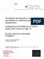 CLS WP 201716-Prevalence and Trend in Overweight and Obesity in Childhood and Adolescence