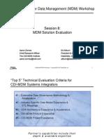 MDM Workshop 08-Solution Evaluation [לקריאה בלבד] [מצב תאימות]