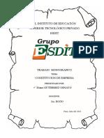 Monografia Sobre Constitucion de Empresa