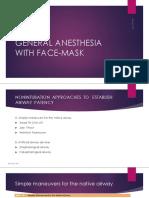 Modul Anestesia Umum FM,LMA
