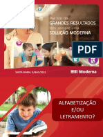 Alfabetizacao Letramento e Ciclo de Alfabetizacao Editora Moderna